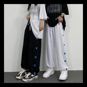 【お取り寄せ】カジュアル サイドハートpt パンツ 3色