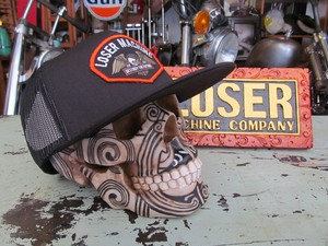 LOSER MACHINE CAP SOFTAIL HAT / BLACK