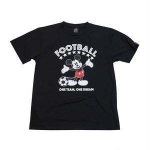 Mickey Mouse コラボ プラシャツ gramo「ONE TEAM」(ブラック/P-048) ※XS~Lサイズ
