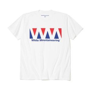 LOGO PRINTED T-SHIRT -WHITE