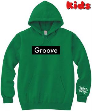 Groove KidsP(GREEN) Black Box Logo ※首紐無し