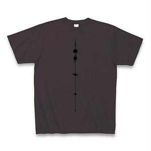 【天文学】太陽系Tシャツ(SolarSystem/Charcoal)