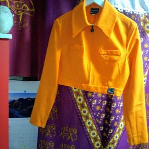 【 VERSACE / orange ショート丈 SpecialClothing.】