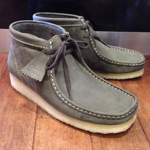 "Clarks / クラークス | 【 Sale 20%off 】 "" Wallabee Boot "" - Dark Green Leather"