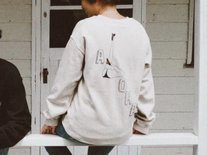 【10/16 21:00発売開始】ALOHA GIRL SWEAT(beige)
