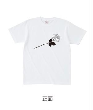 ★受注販売★ 復刻「ROSE」セミオーダーT-shirts [ボディカラー:ホワイト] (7月下旬から順次発送開始予定)