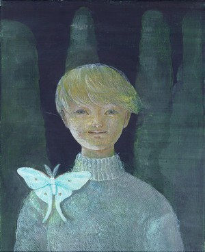 "Ryoko FUJITA ""Actias aliena brooch"""
