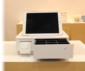 スター精密 レシートプリンター mPOP バーコードスキャナー付 Bluetooth対応 Apple MFI認証 白