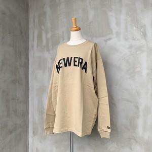 NEW ERA/アーチロゴヘビーウェイトロングTシャツ