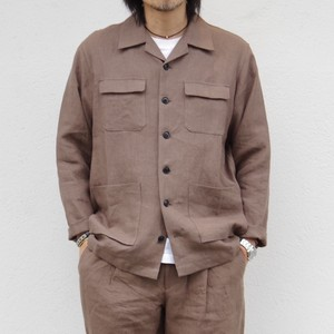 comm.arch. LINEN CANVAS JACKET