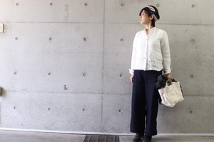 linenu worksリネンシャツ(コンパクトサイズ)