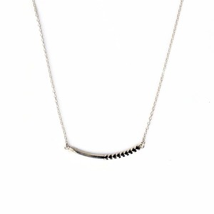 Rock Gold Necklace / S(N184-WG)