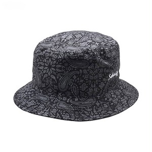subciety PAISLEY BUCKET HAT-Conductor-