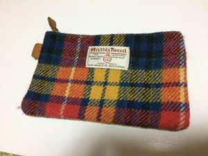 【Harris Tweed】ポーチ