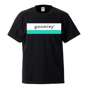 goomiey ロゴTシャツ(ブラック)-XLサイズ