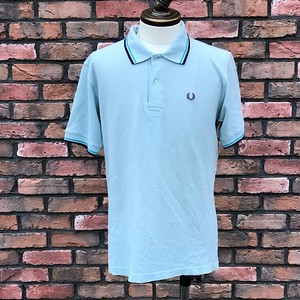 Fred Perry Twin Tipped Polo Shirt L/GRN Large