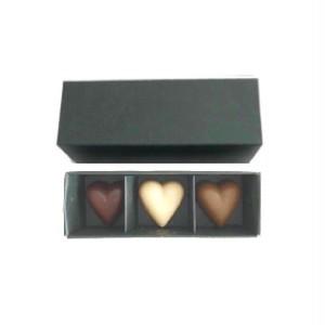 【2018バレンタイン限定】bonbon 3 * heart 3  / ハートスリー /  vegan white raw chocolate & raw chocolate