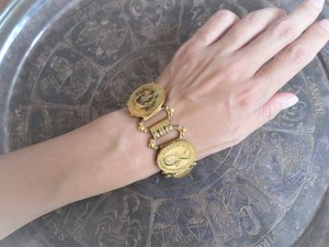 コインブレスレット vintage bracelet coin <BL4-1219>