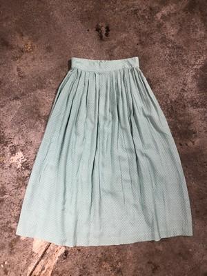 OLD Dot Rayon Skirt