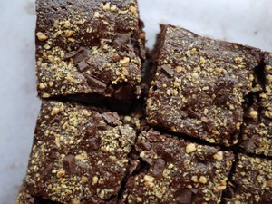 ブラウニー (vegan, gluten free brownies)