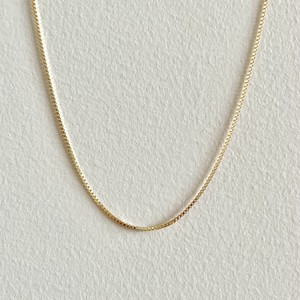 【GF1-106】16inch gold filled chain necklace
