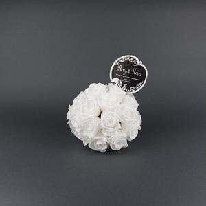 『Ballon de Rose (バルーン・ドゥ・ローズ)』Size S (直径 約13cm バラ 約28本)