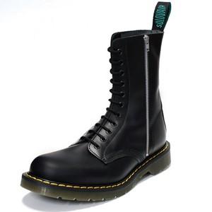 SOLOVAIR 11eyelet Side Zip Boots(ブラック)