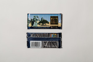 1997 TOPPS STAR WARS TRILOGY WIDE VISION CARD PACK(1 PACK)