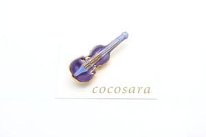 有田焼ブローチ バイオリン 5