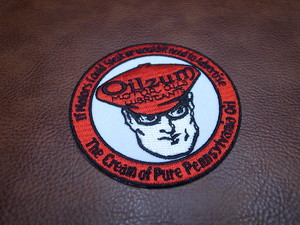 Oilzam MOTOR OILS Oval Vintage Patch