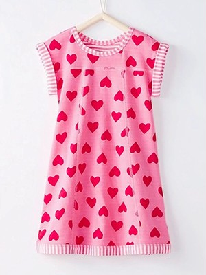 Heart kids dress