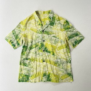 gradation open collar BIG S/S shirt