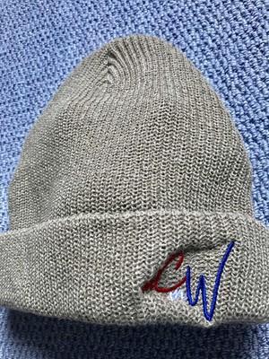 "New!!《送料込》McMamWell Emblem Knit Cap ""Beige"""