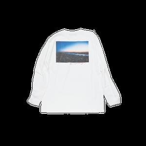 K'rooklyn Long T-Shirt × cherry chill will. - White