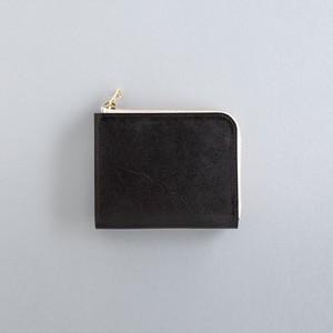 【受注製作】革の財布S ブライドル チョコ