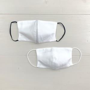 在庫あり【>>>BACKSTAGE】ポケット付ガーゼの洗えるマスク:大人用