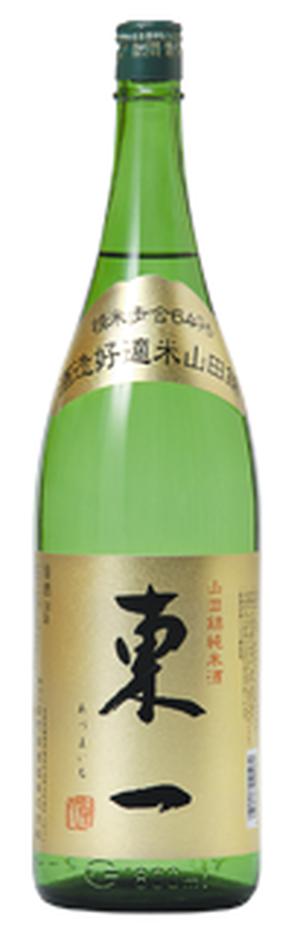 東一 山田錦 純米酒 1.8L×1本