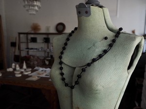 FRANCE 1920 Beads necklace