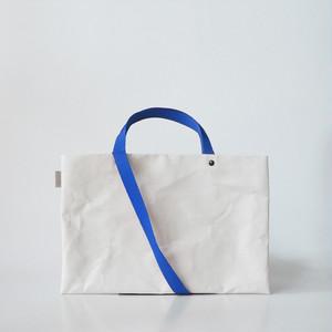 【N/no × E/zel.】SOME WAY LIGHT LESSON BAG P4(A4)_PP/BLUE