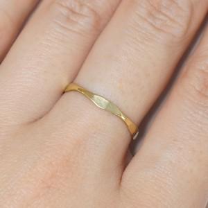『5角さん』Brass(真鍮)製 オリジナルリング