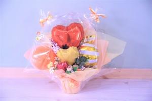 結婚式やお誕生日のお祝いに卓上バルーンギフトM(バルーンアレンジ) 送料込み 引き取りの場合3,400円
