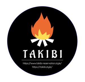 TAKIBIオリジナルステッカー