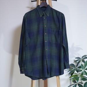アメリカ チェック柄ネルシャツ US [C753]
