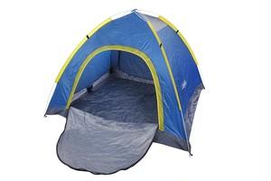 JUCK 3-4人 アウトドア キャンプ インスタント ワンタッチ テント 災害時に ご家族で 防滴 防水 日焼け止め