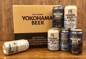 【缶ビール 2種類詰め合わせ!】横浜ラガー 350ml ・横浜ウィート 350ml  各6本 12本セット