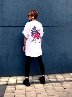 072 JAPAN T-shirts【White】