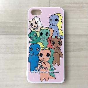 カブレ族(ハローUMAワールドjp):カブレちゃんファミリー iPhoneケースカブレ族