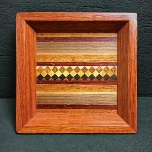wood inlay mini tray 0103
