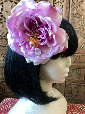 Flower hair ornament -Pink1