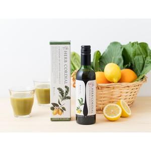 【白砂糖不使用】青汁&レモンハーブコーディアル